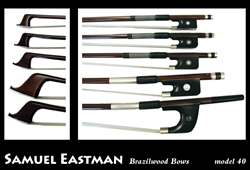 Violin Bow Model 40 Eastman Octagonal Brasilwood