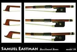 Violin Bow Andreas Eastman Model 50 Octagonal Select Brazilwood