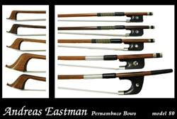 Violin Bow Model 80 Eastman Wood