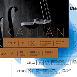 Cello Strings - Helicore Kaplan String Set