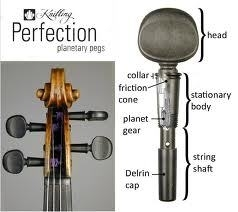 Cello Pegs - Knilling Planetary Pegs