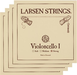 Larsen Cello Strings - Fractional Sizes