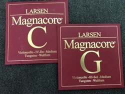 Cello Strings - Larsen Magnacore 'Bottom Two'