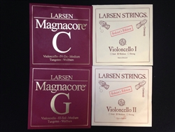 Cello Strings - Magnacore / Larsen Solo String Set