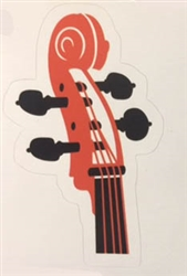 cello scroll sticker