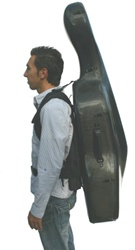 Cello Case Musilia  Backpack System