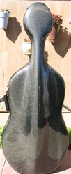 Cello Case Musilia M6 Carbon Fiber for larger cellos