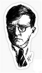 shostakovich sticker