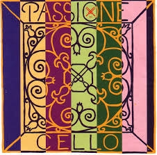Cello Strings Passione A and D