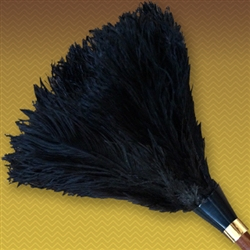 "14"" Apex Line Premium Ostrich Feather Duster - Black (ALTAAP14B)"