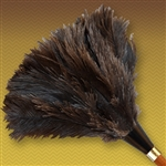 "14"" Apex Line Premium Ostrich Feather Duster - Gray (ALTAAP14G)"