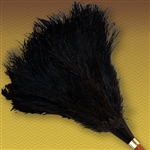 "20"" Apex Line Premium Ostrich Feather Duster - Black (ALTAAP20B)"
