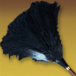 "28"" Apex Line Premium Ostrich Feather Duster - Black (ALTAAP28B)"