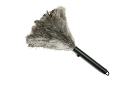 "Premium Retractable Ostrich Feather Duster 13"" Closed / 17-19"" Open (ALTAR18P)"