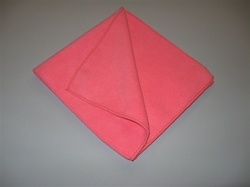 "12"" Pink Deep Cleaning Towel (5-pack)"