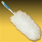 "Flexible Microfiber Duster. 20"" long"