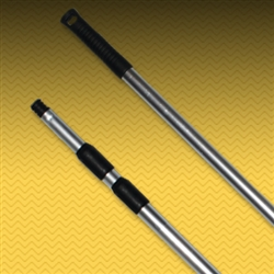 "Aluminum 3-Section Telescopic Extension Pole. 32"" to 82""  (FDDPL100)"