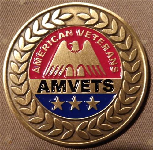 Amvet Challenge Coin