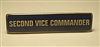 Second Vice Commander Bar