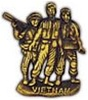 3 MAN VIETNAM MEMORIAL PIN