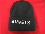 Cold Weather Knit Cap  Black