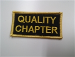 Rider Quality Chapter Patch