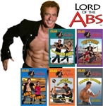 Gilad's Lord of the abs - All 5 DVDs