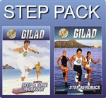 Gilad step and tone workout and Step Aerobics.