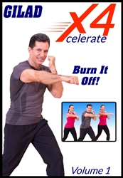 Gilad's Xcelerate-4 - Vol 1 - Burn It Off