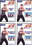 Gilad's Xcelerate-4 - Vol 1 - 4 (4 dvds)