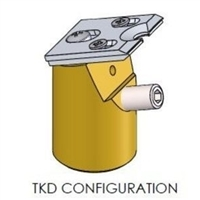 TKD EBSD sample holder
