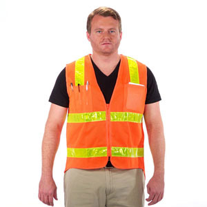 Class 2 Safety Vest - Extended Back -5X ONLY