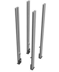 EZSMART Table Leg Hardware Set