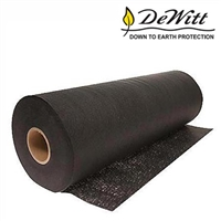 Landscape weed fabric black roll