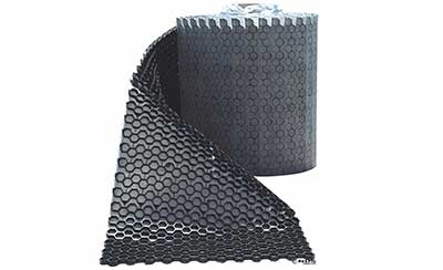 NDS EZ Roll Gravel Pavers - GP4X150 - 4' x 150' Roll - Black