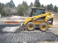 Typar Geocell roll for gravel grid