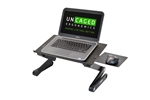 Adjustable laptop stand uncaged erogonomics