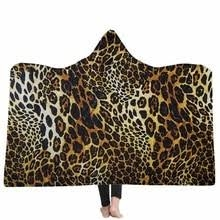 Hooded Blanket Animal Prints