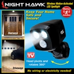 Night Hawk motion sensored  As Seen on TV