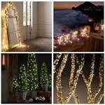 Solar Powered String Lights Copper Wire