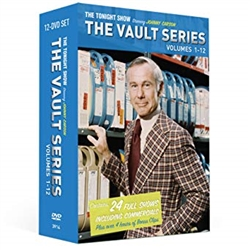 The Tonight show starring Johnny Carson the vault series 12 DVD Set time life