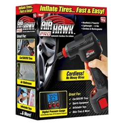 Air Hawk Tire Inflator air compressor - As Seen on TV
