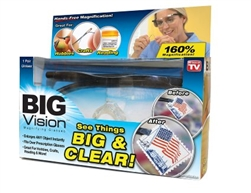 Big Vision magnify glasses As Seen on TV