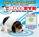 Bulls Eye Pee Pads Potty Training Puppy