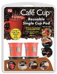 Cafe Cup For Keurig Coffee Makers