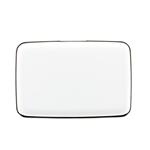 Aluminum RFID Charging Wallet White Atomic Charge As Seen on TV