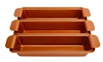 Copper loaf Pan Set As Seen on TV Webstore