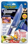 diamond sharp knife ceramic