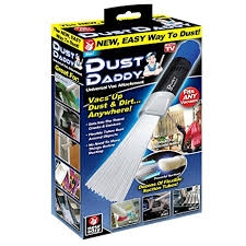 Dust Daddy vacuum attachment As Seen on TV