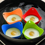 Silicone Egg Poacher Cup As Seen on TV